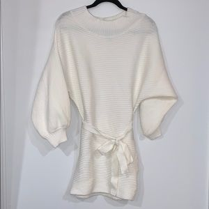 White Sweater / dress